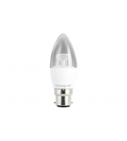 Integral CANDLE BULB B22 470LM 5.6W 2700K DIMMABLE 240 BEAM CLEAR