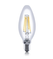 Integral E14 3.5W Dimmable Filament LED Candle Lamp (Warm White)