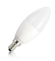 Integral Candle E14 500LM 5.6W Eq. to 40W 5000K Dimmable 80CRI 280° (Frosted)