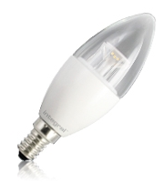 Integral Candle E14 500LM 5.6W Eq. to 40W 5000K Dimmable 80CRI 240° (Clear)