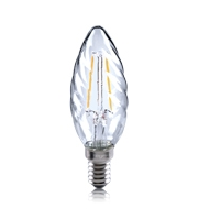 Integral Twisted 2W E14 LED Candle Lamp (Warm White)