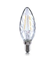 Integral Twisted 2W E14 LED Candle Lamp (Warm White)