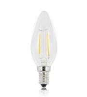 Integral Candle E14 250LM 2.8W Eq. to 25W 2700K Non-dimmable 80CRI 330° Filament (Clear)