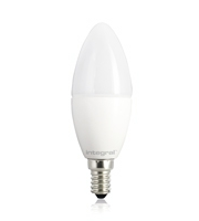 Integral Candle E14 470LM 5.5W Eq. to 40W 2700K Non-dimmable 80CRI 280° (Frosted)