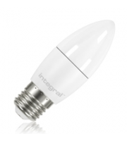 Integral Candle E27 470LM 5.5W Eq. to 40W 2700K Non-dimmable 80CRI 280° (Frosted)