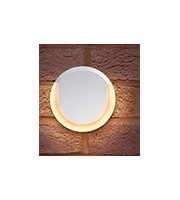Integral Lunox Mini Wall Light IP54 8w 400lm 3000K White