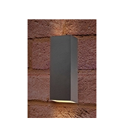 Integral Pablo Wall Light IP54 8w 300lm 3000K Dark Grey
