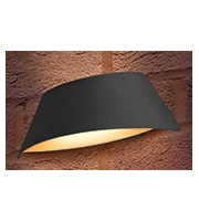 Integral Vistalux Wall Light IP65 9w 400lm 3000K Dark Grey Outdoor