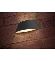 Integral Vistalux Wall Light IP65 9w 420lm 4000K (Dark Grey)
