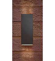 Integral Pablo Wall Light IP54 8w 315lm 4000K (Dark Grey)