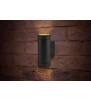 Integral Outdoor Decorative Wall Light Versari IP54 2 * GU10 Up And Down Light Dark Grey