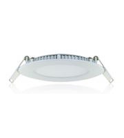 Integral Static Downlight 160mm Cutout 12W 900lumens 5000k 75Lm/W White Front Finish
