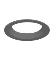 Integral Performance Flex Bezel For 200MM Cutout Grey Round