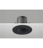 Integral Mini Tiltable Downlight 50MM Cutout 3.3W 170LM 52LM/W 4000K 15 Beam Non-dim Finish-f Black Integral