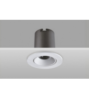 Integral Hi-brite Tiltable Downlight 60MM Cutout 9W 785LM 90LM/W 4000K 30 Beam Non-dimm Finish-f White Integral