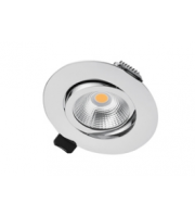 Integral Ultra Slim Tiltable Downlight 65MM Cutout 6.5W 670LM 103LM/W 4000K 36 Beam Dimmable White