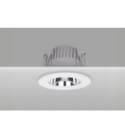 Integral Recessed Downlight 90MM Cutout 10W 1000LM 100LM/W 4000K 65 Beam Dimmable White Integral