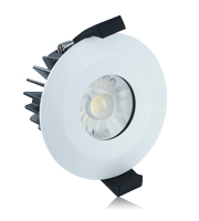 Integral 6W IP65 Low Profile Non Dimmable LED Downlight (Matt White)