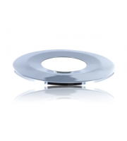 Integral Low-profile Fire Rated Downlight Polished Chrome Bezel