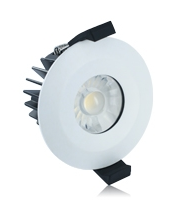 Integral 8.5W IP65 Low Profile Dimmable LED Downlight (Matt White)