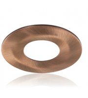 Integral Low-profile Fire Rated Downlight Copper Bezel (Copper)