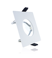 Integral Evofire Fire Rated Downlight with GU10 Holder & Terminal Block (Matt White)