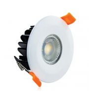 Integral Colour Switch Fire Rated 70MM Cutout 500LM 6W CCT 38deg Dimmable (White)