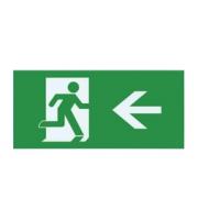 Integral Left Arrow Legend for ILEMES006 (Green)