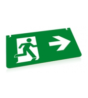 Integral Emergency Legend Right Arrow For ILEMES030 Integral (Green)