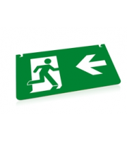 Integral Emergency Legend Left Arrow For ILEMES030 Integral (Green)