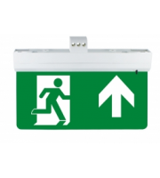 Integral Emergency Exit Sign 26M Viewing 1W 3HR Maintained Or Non-maintained Integral (Green)