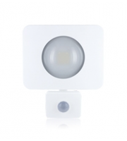 Integral Compact-Tough 20W LED Floodlight with PIR (White)