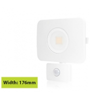 Integral Compact Tough Floodlight With Pir IP64 2700LM 30W 4000K 110B Non-dimm 90LM/W (White)