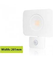 Integral Compact Tough Floodlight With Pir IP64 4500LM 50W 4000K 110B Non-dimm 90LM/W (White)