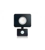 Integral Compact Tough Floodlight With Pir Override IP64 1800LM 20W 4000K (Matt Black)