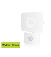Integral Compact Tough Floodlight With Pir Override IP64 1800LM 20W 3000K 90LM/W (White)
