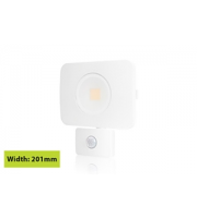 Integral Compact Tough Floodlight With Pir Override IP64 4500LM 50W 3000K (White)