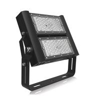 Integral Precision Pro Floodlight IP65 100W 4000K 90 Beam (Black)