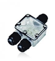 Integral Outdoor Inground Accessory 3 Way Connector Box IP67 IK10
