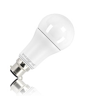 Integral Gls B22 1060LM 12W Eq. to 75W 2700K Dimmable 80CRI 240° (Frosted)