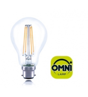 Integral B22 8W Non-Dimmable Omni-LED Filament Lamp (Warm White)