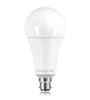 Integral B22 W Non Dimmable Frosted LED Lamp (Warm White)