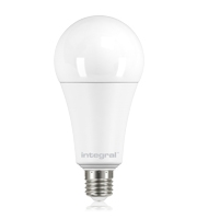 Integral E27 18W Non-Dimmable Frosted GLS LED Lamp (Daylight)