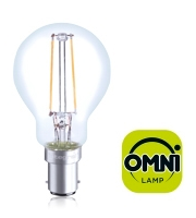 Integral B15 2W Non-Dimmable Filament Omni-Lamp (Warm White)