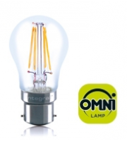 Integral B22 4W Non-Dimmable Filament Omni-Lamp (Warm White)