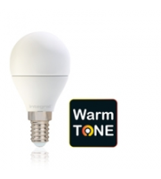 Integral Warmtone Golf Ball E14 470LM 6W 1800-2700K Dimmable 210 Beam Frosted