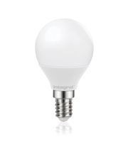 Integral Golf Ball E14 470LM 5.6W 2700K Dimmable 160 Beam Frosted