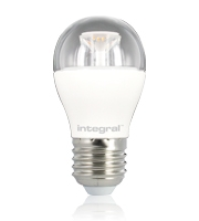 Integral Golf Ball E27 470LM 5.6W 2700K Dimmable 240 Beam Clear
