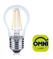 Integral E27 4.5W Dimmable Filament LED Omni-Lamp (Warm White)