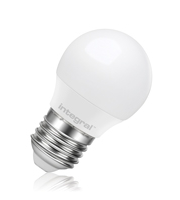 Integral Golf Ball E27 470LM 6.3W 2700K Dimmable 260 Beam Frosted
